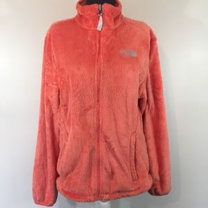 The North Face   woman's furry fleece full zip up